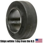 16x6x10-1/2 16x6x10.5 Solid Flat Proof Press-on Smooth Forklift Tire 16610