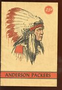 1948 Nbl Basketball Anderson Packers Basketball Yearbook Ex-mt Scarce
