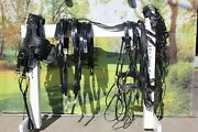 Team Set Usa Made Sport Harness With Euro Brollar Collar All Sizes For 2 Horses