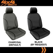Single 14oz Waterproof Canvas Car Seat Cover For Mitsubishi Challenger
