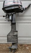 Parting Out .... 1988-a - 1992-b Mercury Force Gamefisher 5hp Outboard Parts