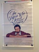 Vintage Original 1980's Movie Poster 27x40 Romance The Man Who Loved Women