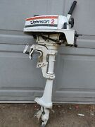 Parting Out..... Johnson 2hp 2r78r Evinrude Motor Outboard Parts