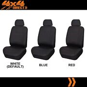 Single Stitched Leather Look Seat Cover For Volvo 940