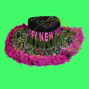 Lot Of 4 Happy New Year Show Daddy Hats - Funny Furry Costume Celebration