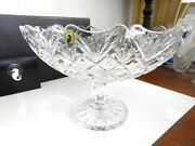 Waterford Crystal Irish Treasures Footed Boat Bowl Centerpiece - New In Box