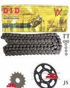 Fits Bmw F650 Gs 8.5mm Bolts K72 2008-2012 Did Vx X-ring Chain And Sprocket Kit