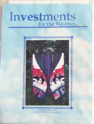 Investments For The Nineties Dolphin Vest Sewing Pattern 1993 - New