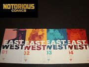 East Of West 1 2 3 4 Complete Image Comic Lot Run Set Hickman 1 2nd Printing