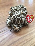Ty Beanie Baby 1996 Freckles The Leopard - 4066 - Retired
