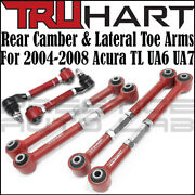 Truhart Rear Camber And Lateral Toe Arms Kit For Acura Tl / Type-s 04-2008 Ua6 Ua7