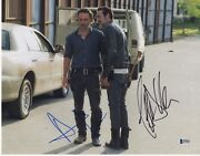 Andrew Lincoln Jeffrey Dean Morgan Signed The Walking Dead Photo 11x14 Autograph