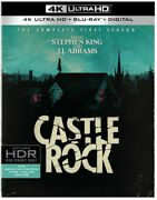 Castle Rock The Complete First Season [new 4k Uhd Blu-ray] Black With Blu-ra