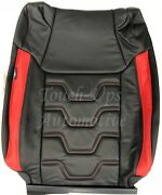 2014-2021 Toyota Tundra Crewmax Alea Premier Style Leather Seat Covers Red