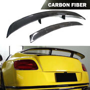 Fits Bentley Continental Coupe Carbon Fiber Spoiler Rear Turnk Wing 2012-2014