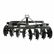 Impact Implements Cat-0 Category 0 Disc Plow / Harrow For Compact Tractors