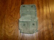 U.s Military Wwii Issue Jungle First Aid Kit Pouch And Bandage 1944 J.a Shoe