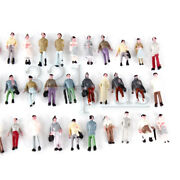 100 Pcs. 1220 Scaled Figures Z Gauge Model Trains Supplies Standing Male Female