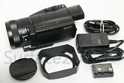 Sony Hdr-cx900 Full Hd Handycam Camcorder Ex Condition W/ Extras Fast Free Ship