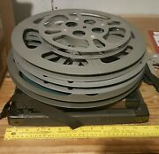 16mm Film Reels And Shipping Containers