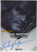 2006 X-men The Last Stand Auto Kelsey Grammer/beast Autograph Frasier/cheers