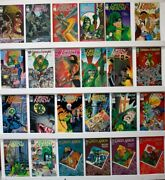 Green Arrow  Lot Of 81 Comics  Nm-  Almost Straight Run See Issue 's Below