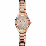 Guess W0230l3 Watch Mini Pixie - Stainless Steel Casing Rose Gold Polished