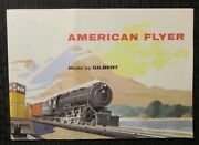 1950s Gilbert Toys American Flyer Trains And Accessories 44pg Catalog Vg/fn 5.0