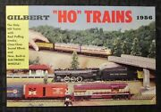 1956 Gilbert Ho Trains American Flyer Trains And Accessories 28pg Catalog Fn+ 6.5