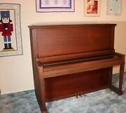 Piano Vose And Son 1917 Antique Full Upright Great Condition Sound Greatandnbsp
