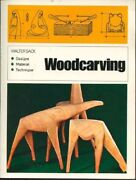 Woodcarving Designs, Materials, Techniques A Reinhold Craft Paperback Engli