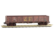 N Scale Mtl Micro-trains 083 44 100 Union Pacific 40' Gondola Weathered W/load