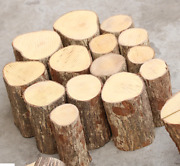 Boxwood Logs Knife Handle Material Scales Blanks Wood Carving 5cm Length 1 Piece