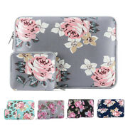Laptop Zipper Floral Sleeve Case 13 13.3 15 15.6inch For Macbook Air Pro13 15