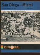 August 12 1967 Afl Pre Season Program San Diego Chargers At Miami Dolphins Exmt