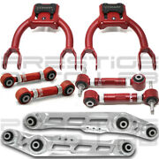 Truhart 8pc Front Rear Camber +toe +lower Control Arms For Civic Integra Eg Dc