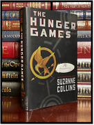 The Hunger Games ✎signed✎ By Suzanne Collins Hardback 1st Edition First Printing