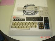 Kevex 8000k/b Digital Electron Microscopy Analyst Keyboard W/ Template And Cable