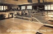 Delray Beach Fl Bowling Arcade Alley Very Clear Real Photo Postcard