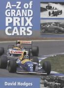 A-z Of Grand Prix Cars By Hodges David Hardback Book The Fast Free Shipping