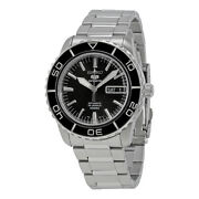 Seiko 5 Sports Snzh55 Automatic Black Stainless Steel Menand039s Watch Snzh55k1