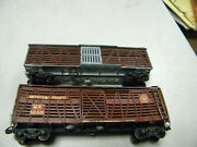 Early Vintage Ho Scale Varney's 1st Plastic Stockcar And Mdc Metal Stock.as Is
