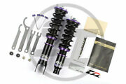 For 98-04 Porsche 911996 4wd D2 Racing Rs Adjustable Suspension Coilovers