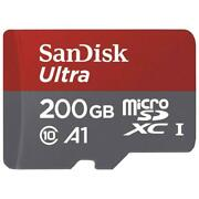Sandisk Ultra 200gb Micro Sdxc Microsd Memory Card High Speed A1 For Cell Phones