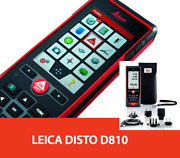 Leica Disto D810 Touch Laser Distance Meter 660ft Bluetooth Ip54 30 Memory Fedex