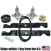 46 Lawn Tractor Mower Deck Parts Rebuild Kit Compatible With Sears Yts 3000