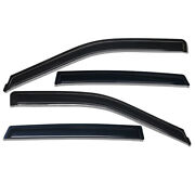 Acrylic Window Visors Sun Rain Guards Vent Shade Fit For 2011-2021 Dodge Charger