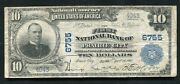 1902 10 The First National Bank Of Prairie City Ia National Currency Ch. 6755