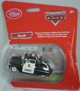 New Disney Store Pixar Cars Sheriff Replica Diecast Toy 143 3+ Rare Sold Out