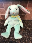 Ty Beanie Babies Hippity The Bunny Rare With Errors. Great For Easter 🐰